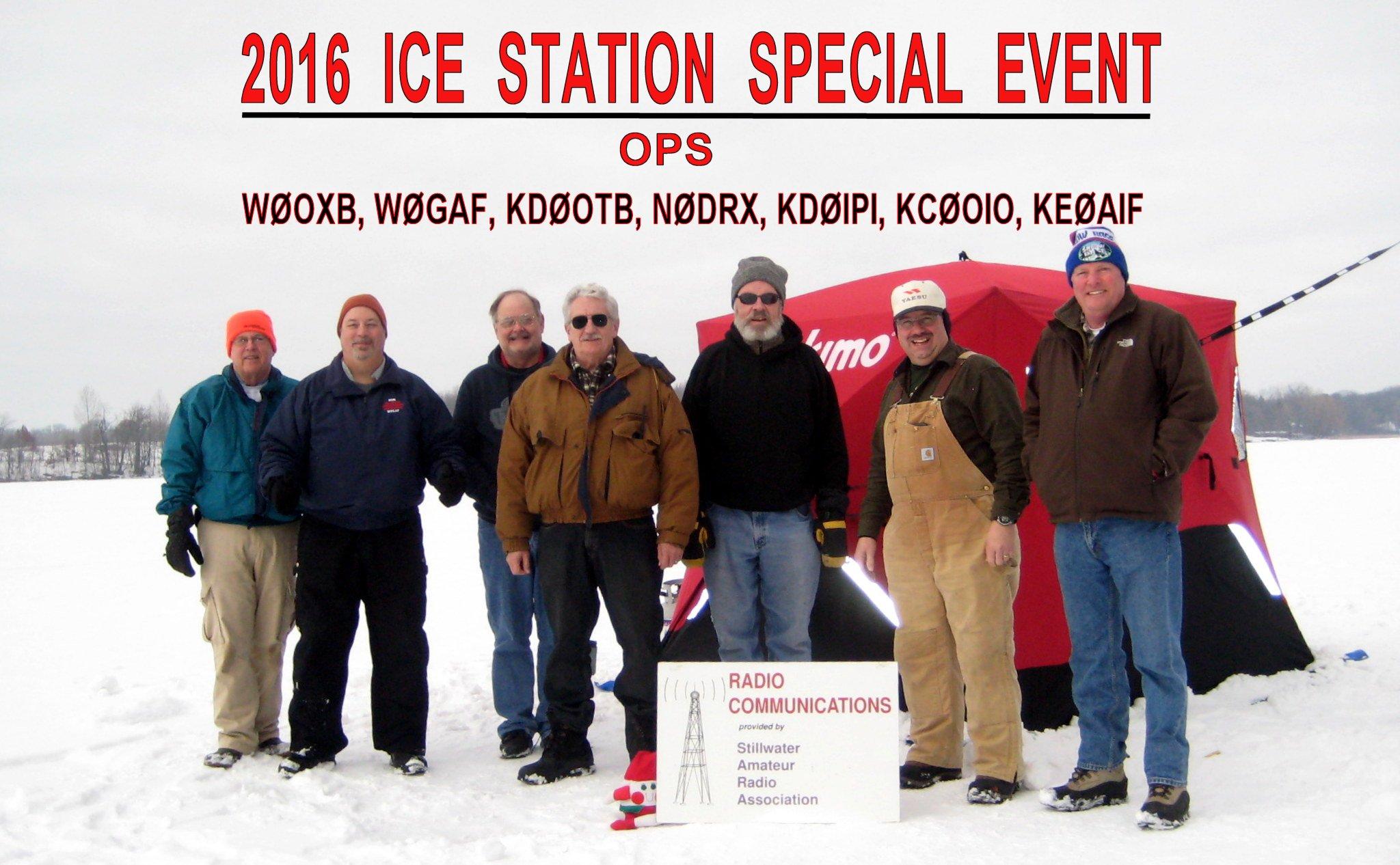 Frozen Lake Portable: Ice Station W0JH