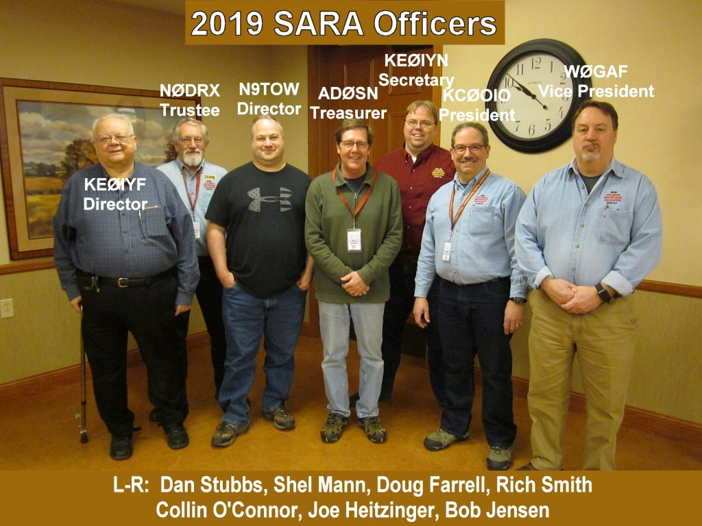 2019 SARA Executive Officers